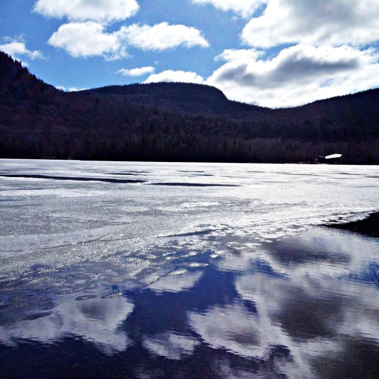 Lake Monroe in spring