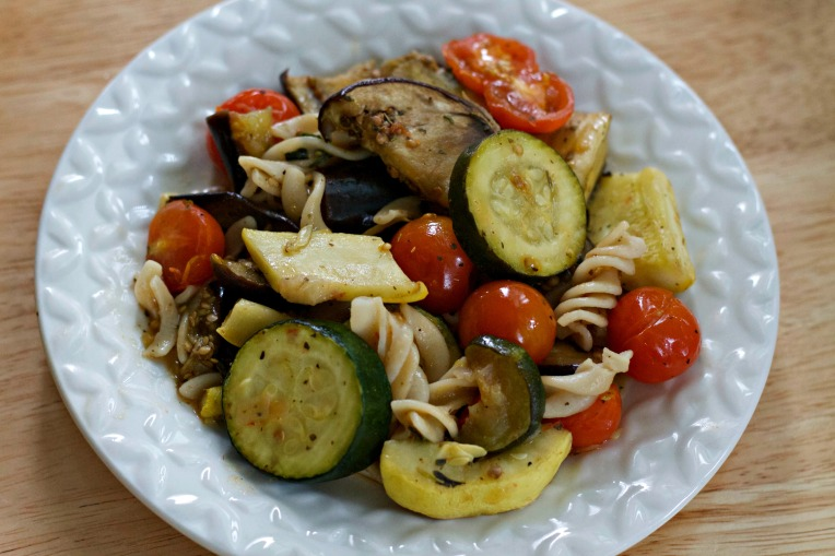 Roasted Vegetables Pasta