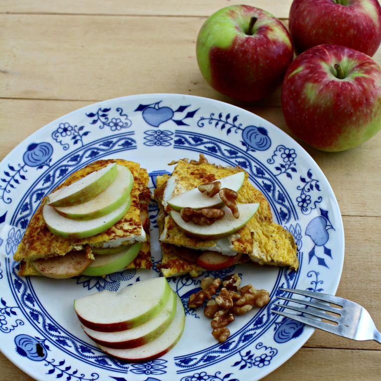 Omelette aux pommes